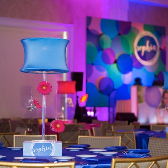 Sophia Hurst Bat Mitzvah in Dallas, Texas on August 22, 2015. (Photo by/Sharon Ellman)